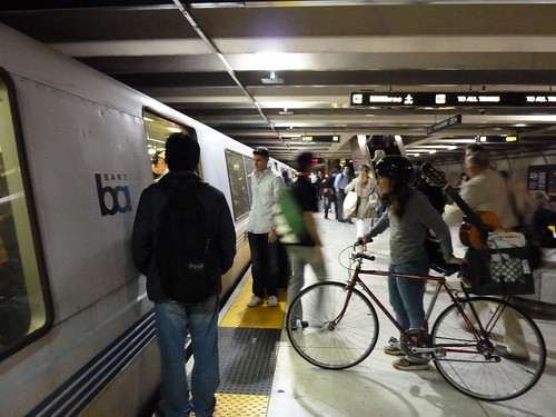 Bikes on Bart Pilot Aug. 3, 2012 | by sfbike