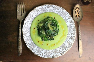 Fava Puree with Sauteed Chicory | by SeppySills