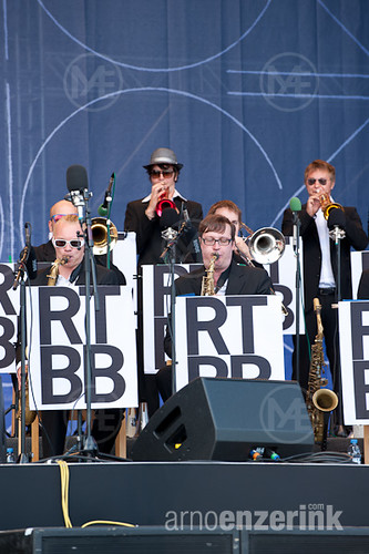 Ricky-Tick Big Band performing on stage in Kirjurinluoto A…   Flickr