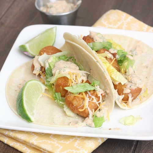 Beer Battered Fish Tacos | by Tracey's Culinary Adventures