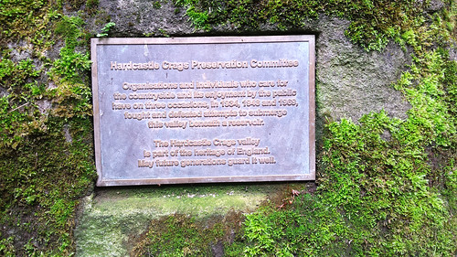Hardcastle Crags sign