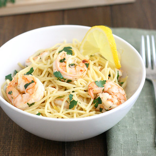 Lemony Shrimp Scampi Pasta | by Tracey's Culinary Adventures