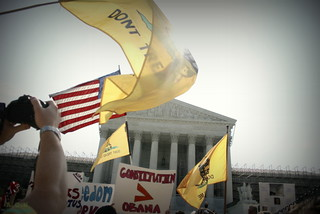 Flags wave high at the Supreme Court | by A.C.N. Photography