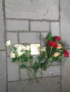 Gedenkveranstaltung zum 200. Stolperstein in Harburg