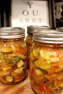 20120626. Canning report: 4 more jars of bread and butter pickles. | by Famous the Cat
