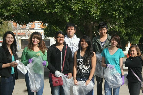Step Up Chaffey Trash pickup | by acespace