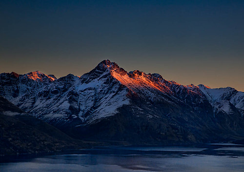 Last Sun On the Mountains - Queenstown | by stewartbaird