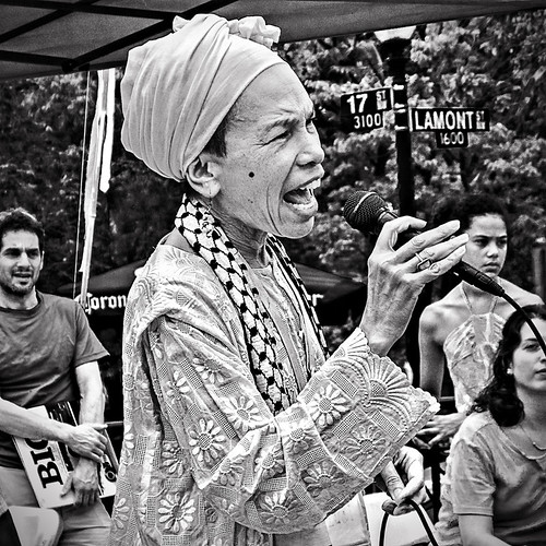 The Notorious & Legendary Luci Murphy, Jazz Artist & Community Activist, Occupy DC, Lamont Park, Washington, DC | by Gerald L. Campbell