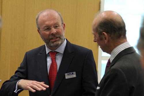 Brian Bowsher with HRH The Duke of Kent | by National Physical Laboratory