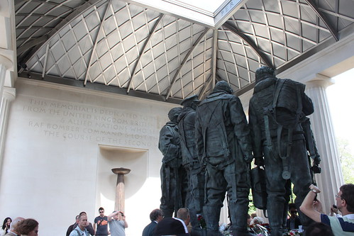 Bomber Command Memorial Surrounded | by RobSpalding