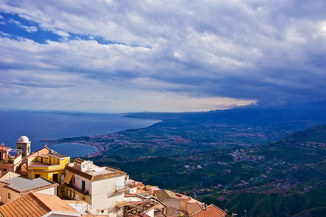 Taormina panorama from Castelmola