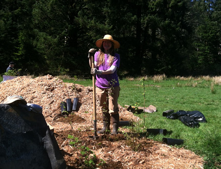 Celeste Coulter, Earth Day at Circle Creek 2012 | by North Coast Land Conservancy