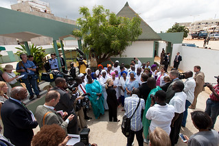 Secretary Clinton Meets with Maguilen Senghor Health Center Staff and Patients | by U.S. Department of State