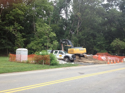 Porta Potty, Truck and Excavator | by fixedgear