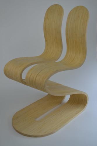 The Fluid Ribbon Chair