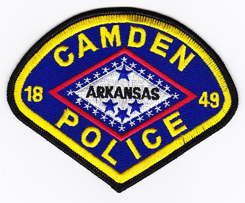 Ar Camden Police Department Patch For Waubonsee