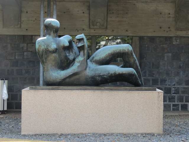 Ohara Museum of Art - Henry Moore - Reclining Mother and Child