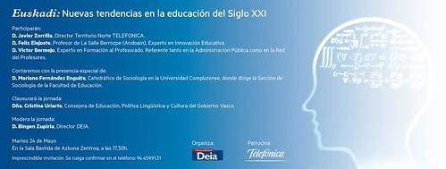 Euskadi: Nuevas tendencias en la educación del siglo XX