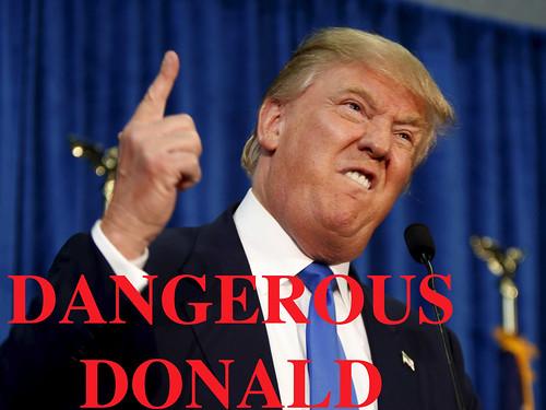 Dangerous Donald!