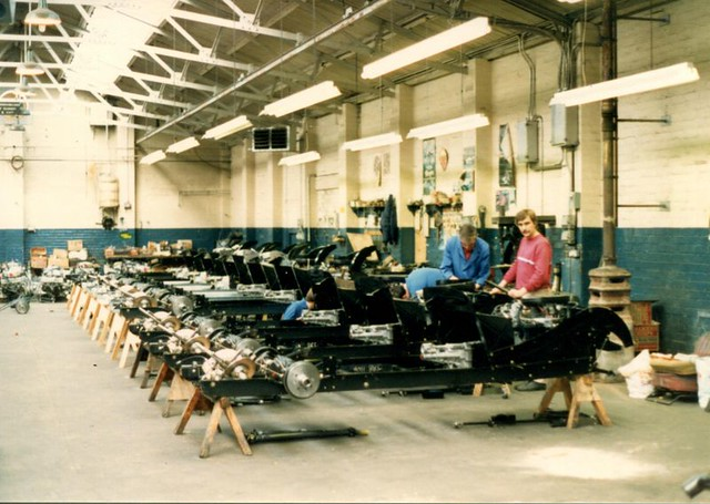 1988 Morgan Factory Visit
