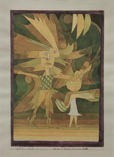 Genien (Figuren aus einem Ballett), Paul Klee, 1922