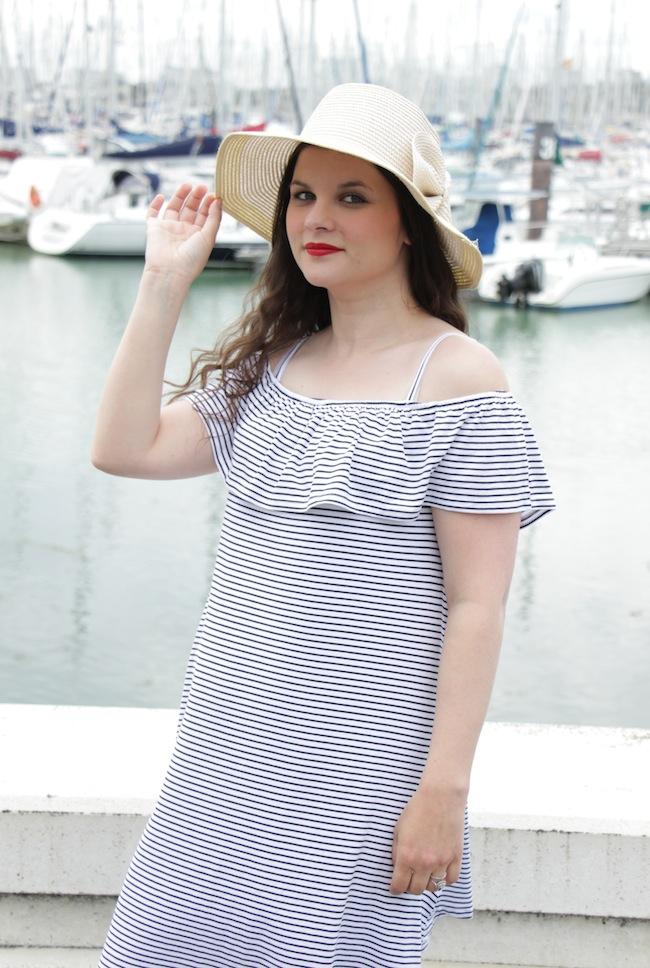 romantic_sailor_robe_bardot_epaules_denudees_blog_mode_la_rochelle_4