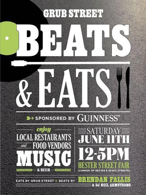 June 11th Beats & Eats