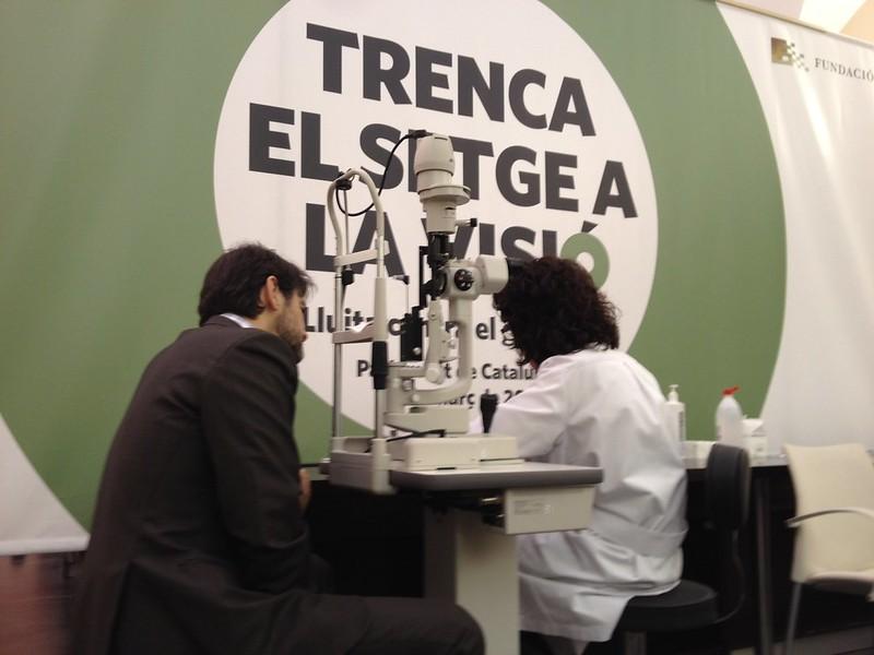 Oriol Pujol. Campanya contra el Glaucoma (2)