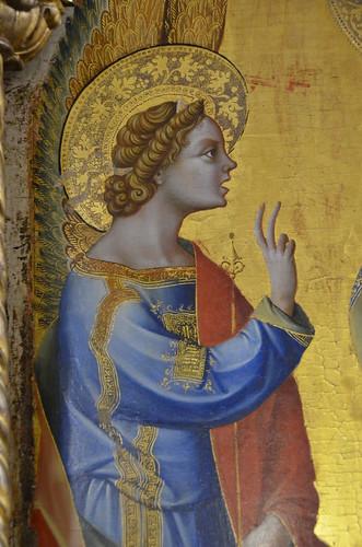Lorenzo Veneziano, Annunciation, 2nd half of 14th cent (4 ...