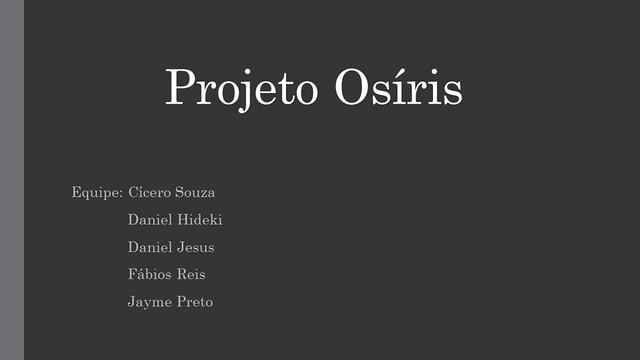 Project Osíris