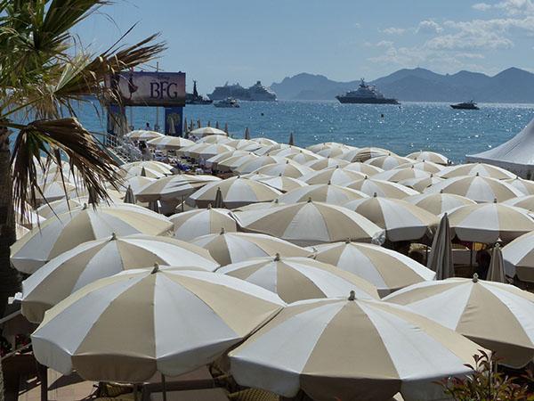 mer de parasols