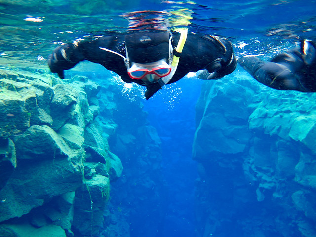 Silfra snorkeling day tour-Dive.is