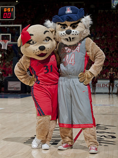 Wilbur & Wilma at Arizona vs. UCLA | by BearDownArizona
