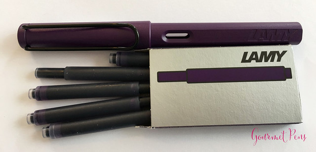 Review Lamy Safari Dark Lilac FP @Fontoplum0 030