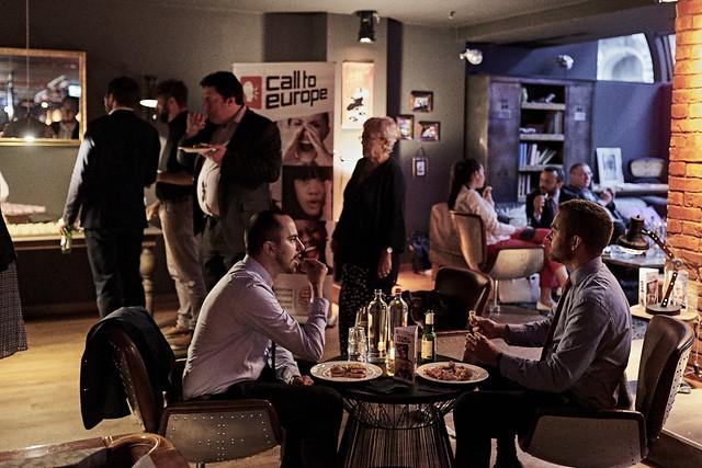 Speakers dinner. Call to Europe VI: Millennials & Politics