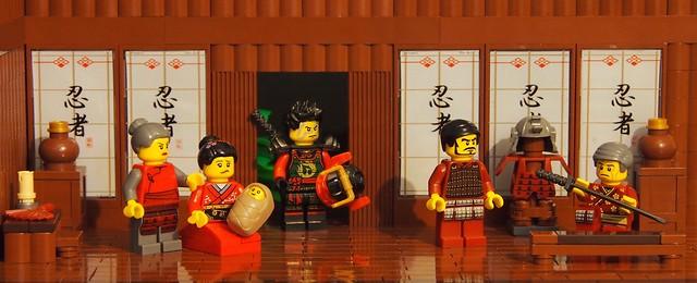 departure of the Samurai