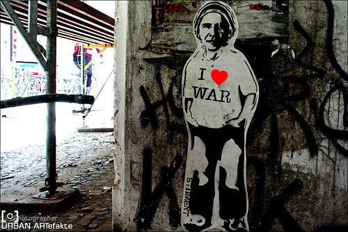 I♥ WAR | by alias URBAN ARTefakte