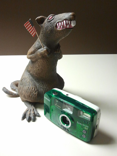 Static Rat and the Samsung Spectrum 20 | by KurtClark