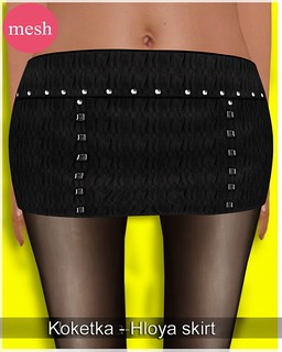 Koketka-Hloya skirt-MESH- for The Whore Couture Fair 2012 | by N.Julia