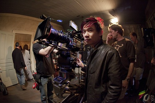 The Conjuring - backstage - James Wan directing