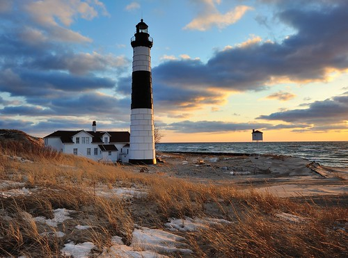 """A Guiding Light""   Big Sable Point Lighthouse - Ludington, Michigan 
