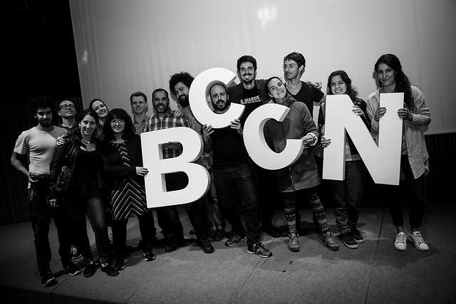 Foto de grupo del equipo del BccN 2016.