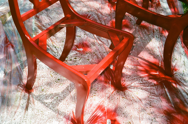 Red Chairs.