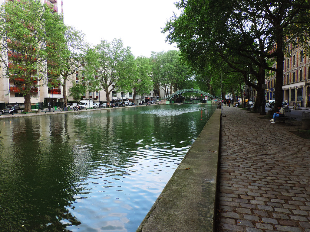 Our First Impressions Of Paris: Canal St. Martin, Paris