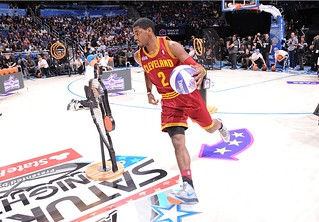 Kyrie Skills Challenge (Rising Stars NBA-AllStar Weekend) | by Cavs History