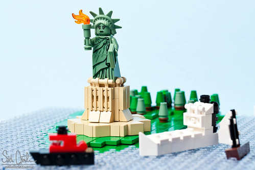 Minifig Statue of Liberty | by Seth Christie
