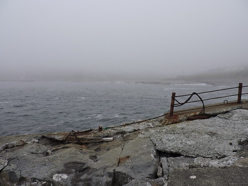 Abandoned Fishery Dock in Flat Rock