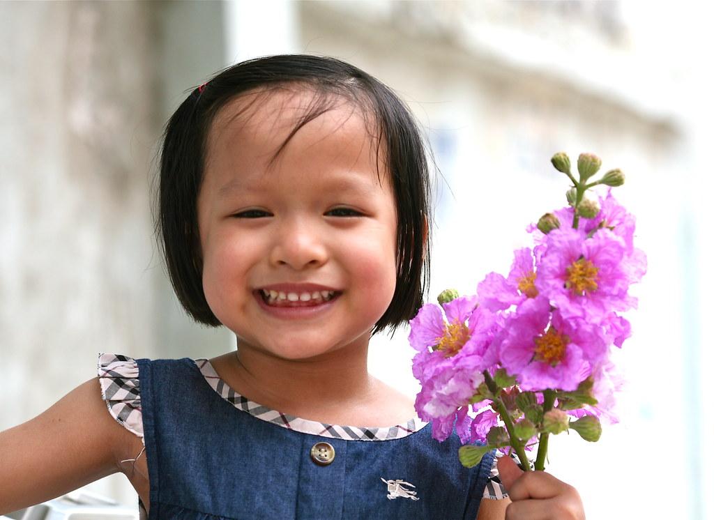 Em bé Hà nội.