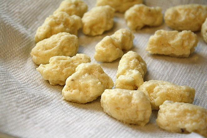 Ricotta Cheese Gnocchi