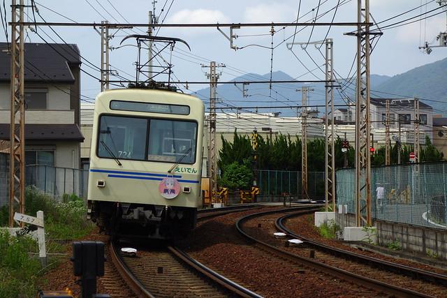 2016/06 叡山電車×NEW GAME! 2016アニメ版ラッピング車両 #12